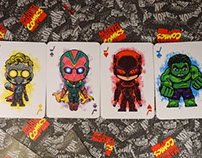 "Playing Cards - ""Galactus"" Marvel Edition"
