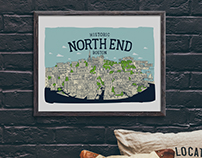 The North End Map