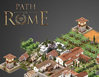"3D graphic for videogame ""Path of rome"" ( 4-2015 )"