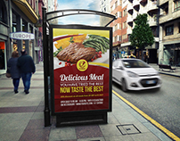 Restaurant Poster Template Vol.7