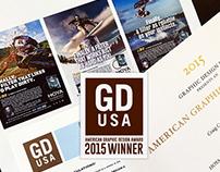 CCGD wins 2015 American Graphic Design Award.