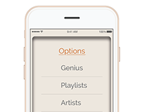 iPhone Car Music Mockups
