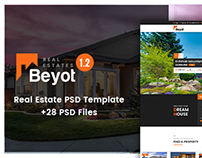 Beyot - Real Estate PSD Template