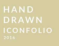 Hand Drawn Iconfolio 2016