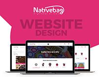 Nativebag Website Design
