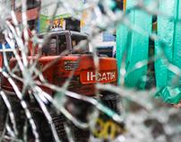 La destrucción de las calles del Bronx