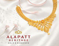 Jewellery photography for Alapatt Heritage
