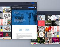 Behance Web • Material Concept