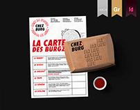 BRANDING • Chez Burg