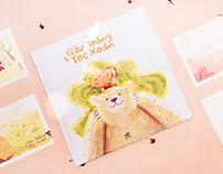 Gấu Trắng và Tóc Xoăn   Picture Book