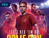 Soccer Flyer - PSD Template
