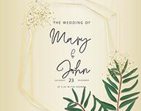 ELEGANT WEDDING INVITATION CARDS COLLECTION
