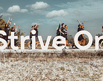 #STRIVEON CAMPAIGN FOR STRIVE ENERGY BAR