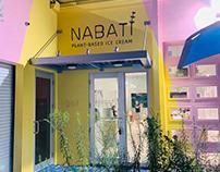 Nabati logo sign