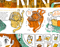 One page comics!