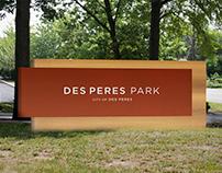 Park Wayfinding System — Des Peres Park