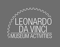 Immagine coordinata Museo Leonardo da Vinci