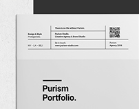 Purism Portfolio and Project Lookbook