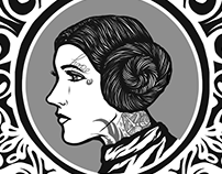 Hope - Memorial to Carrie Fisher