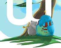 background illustration for Wacom Ukraine logo