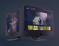 web design // music website Mawave
