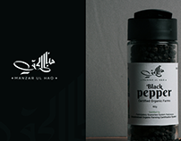 Manzar ul Haq Black pepper Logo