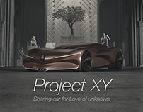 'XxxY' : Renault Project 'XY' motion graphic