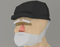 Old Sailor - Low Poly