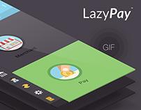 LazyPay app