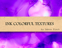 Ink colorful textures