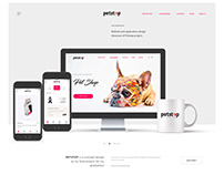 Petstop Project Website/Application Design (UX/UI)