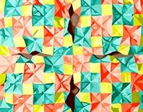 Surface Design Paper Sculpture Project