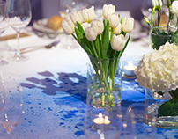 Table Cloth Design // Ballroom Décor