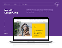 Moorthy Dental Clinic Website