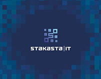 Corporate identity for Stakasta company – IT