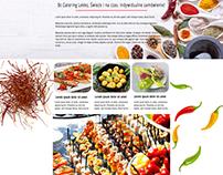 Bc Catering web design