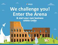 Unilin - Arena Challenge