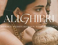 Alighieri Jewellery Brand - UX/UI Concept