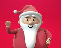 Manulife Christmas Character Design