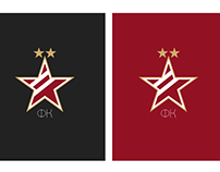 Red Star minimalistic logo