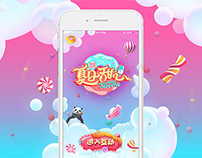 TV Show-Summer Sweetie UI Design