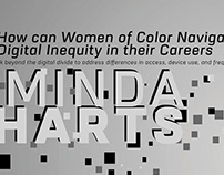 Minda Harts Talk Flyer