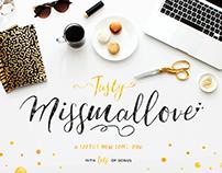 Tasty Missmallove Font Duo