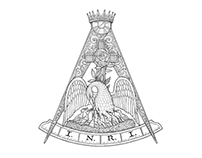 Rose Croix Illustration