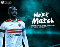 Zamalek SC Vs Petrojet FC