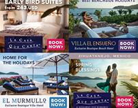 Online Banner Ads - La casa Que Canta