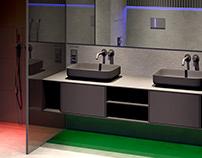 RGB bathroom