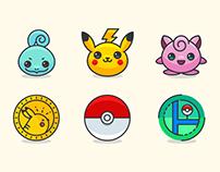 100 Free Pokémon Go Icons (Ai, PSD, Sketch,SVG, PNG, an