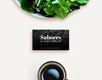 Sabores by Alex Capalvo, UX/UI, Branding.