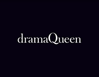 dramaQueen / Identity & Blog Design
